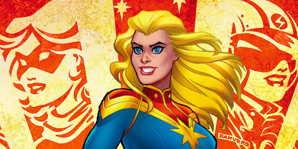 captain marvel 1 2019 cover