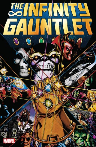 infinity gauntlet mini cover