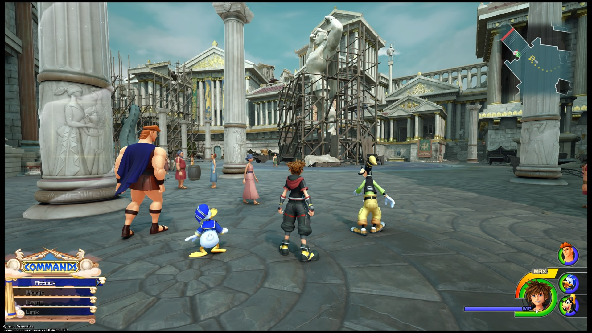 Kingdom Hearts III NPCs