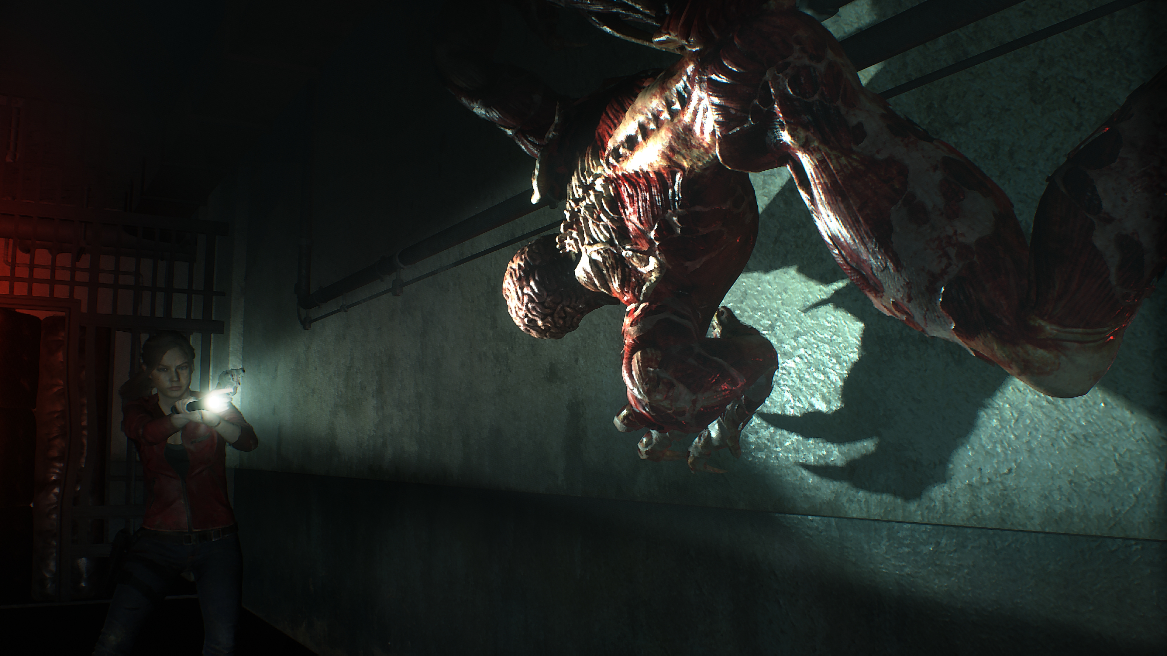 resident evil 2 claire licker