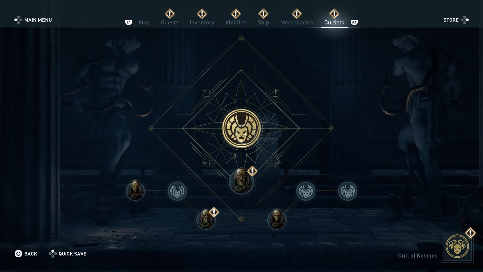 Assassin's Creed Odyssey order