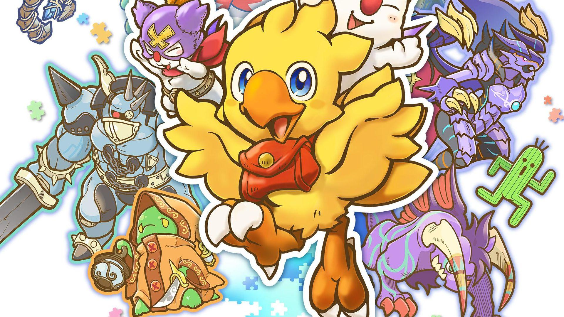 chocobo dungeon every buddy