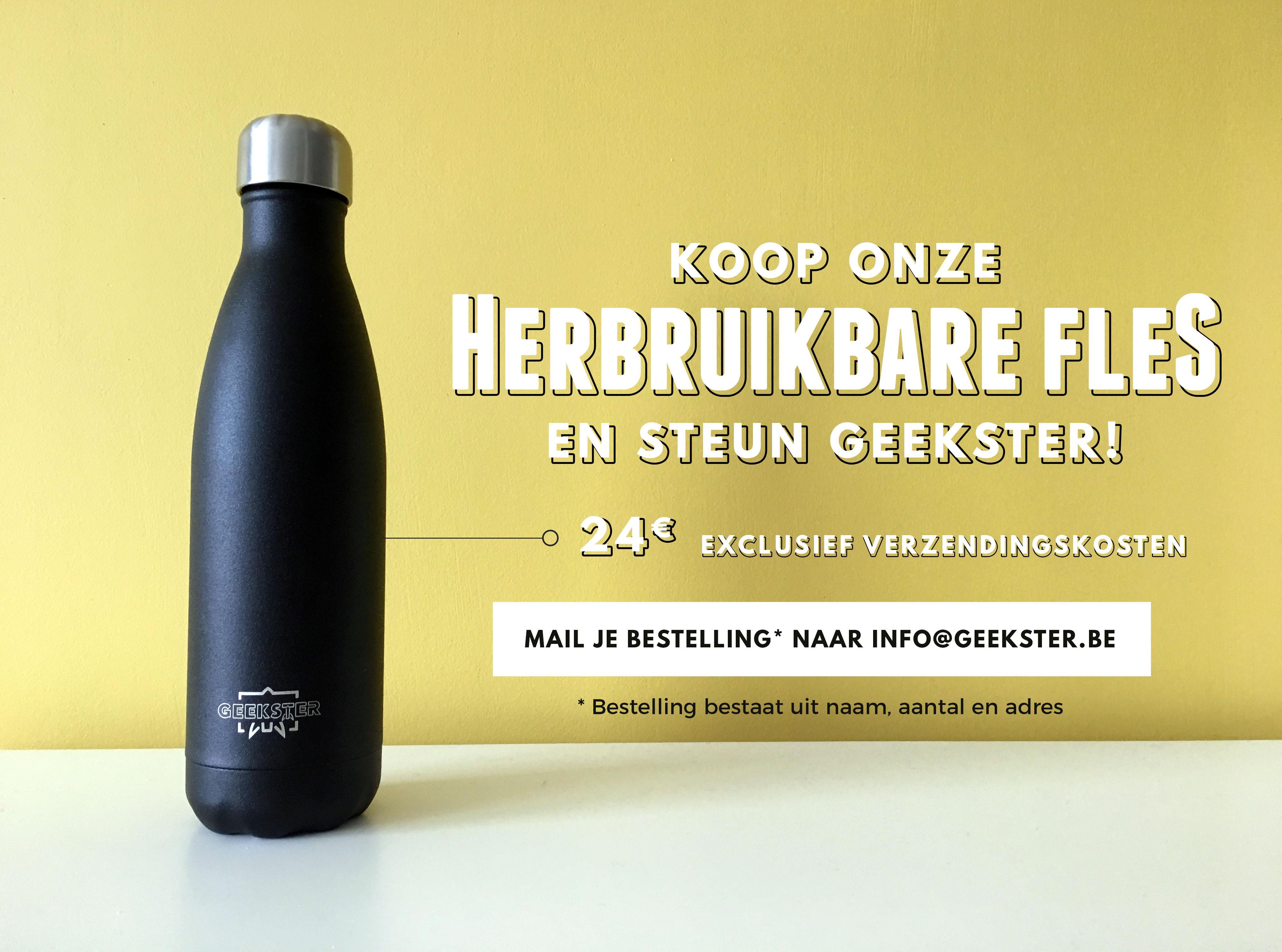 Koop onze Herbruikbare Flessen