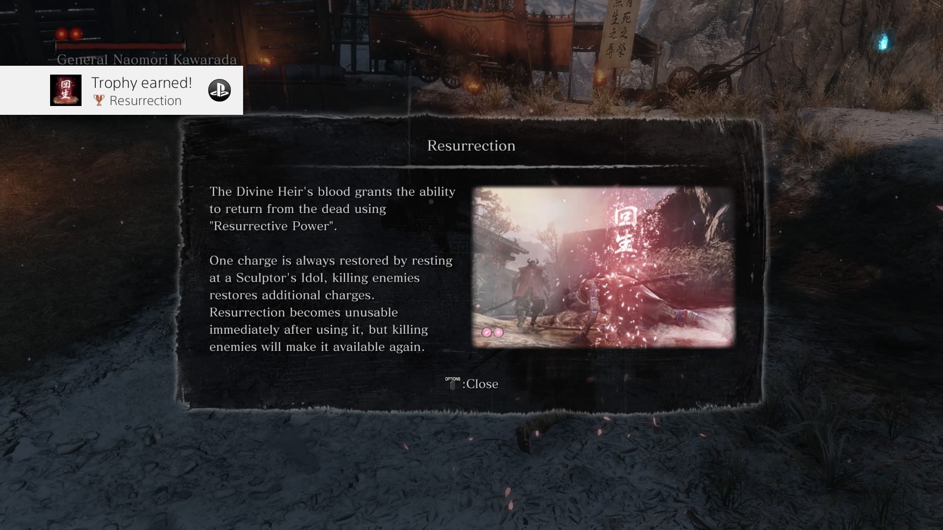 sekiro resurrection tutorial
