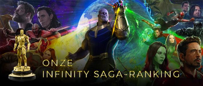 Infinity Saga Ranking