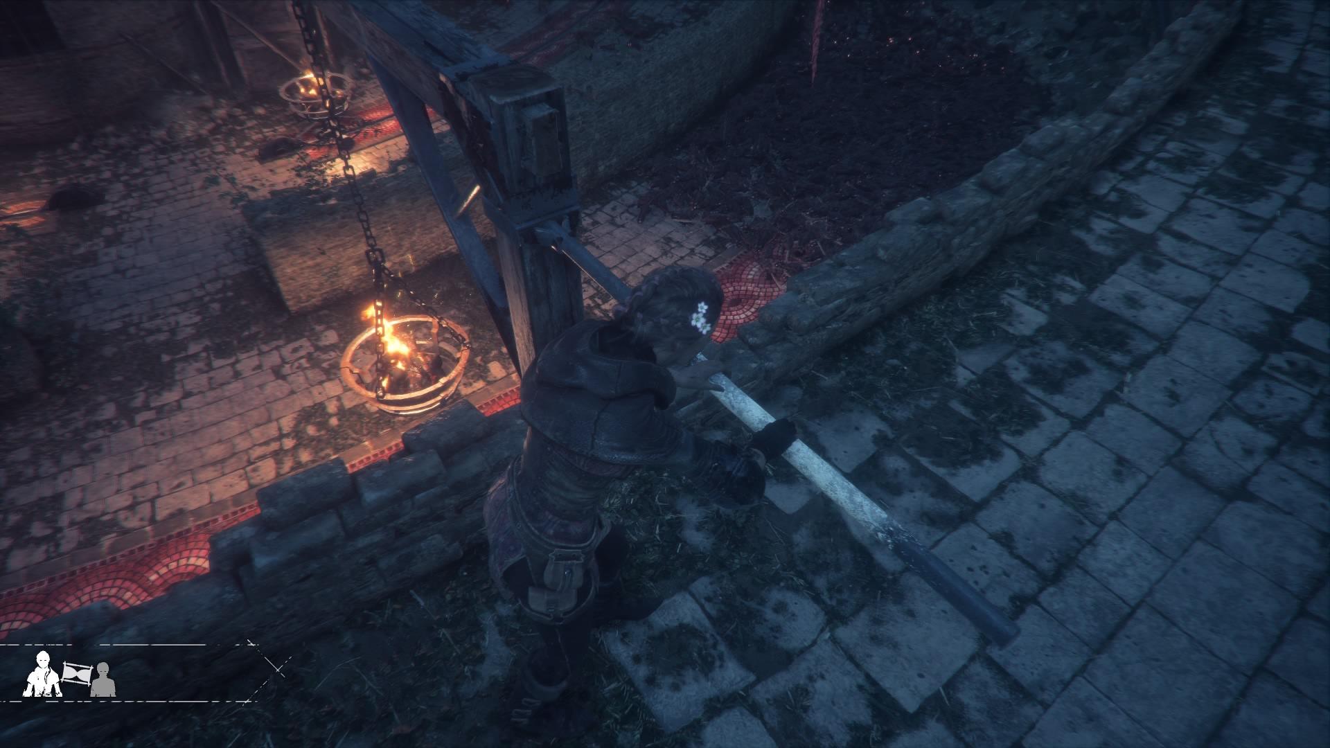 Bij sommige lichtbronnen in oude ruines vraag je je af wie ze aangestoken heeft..