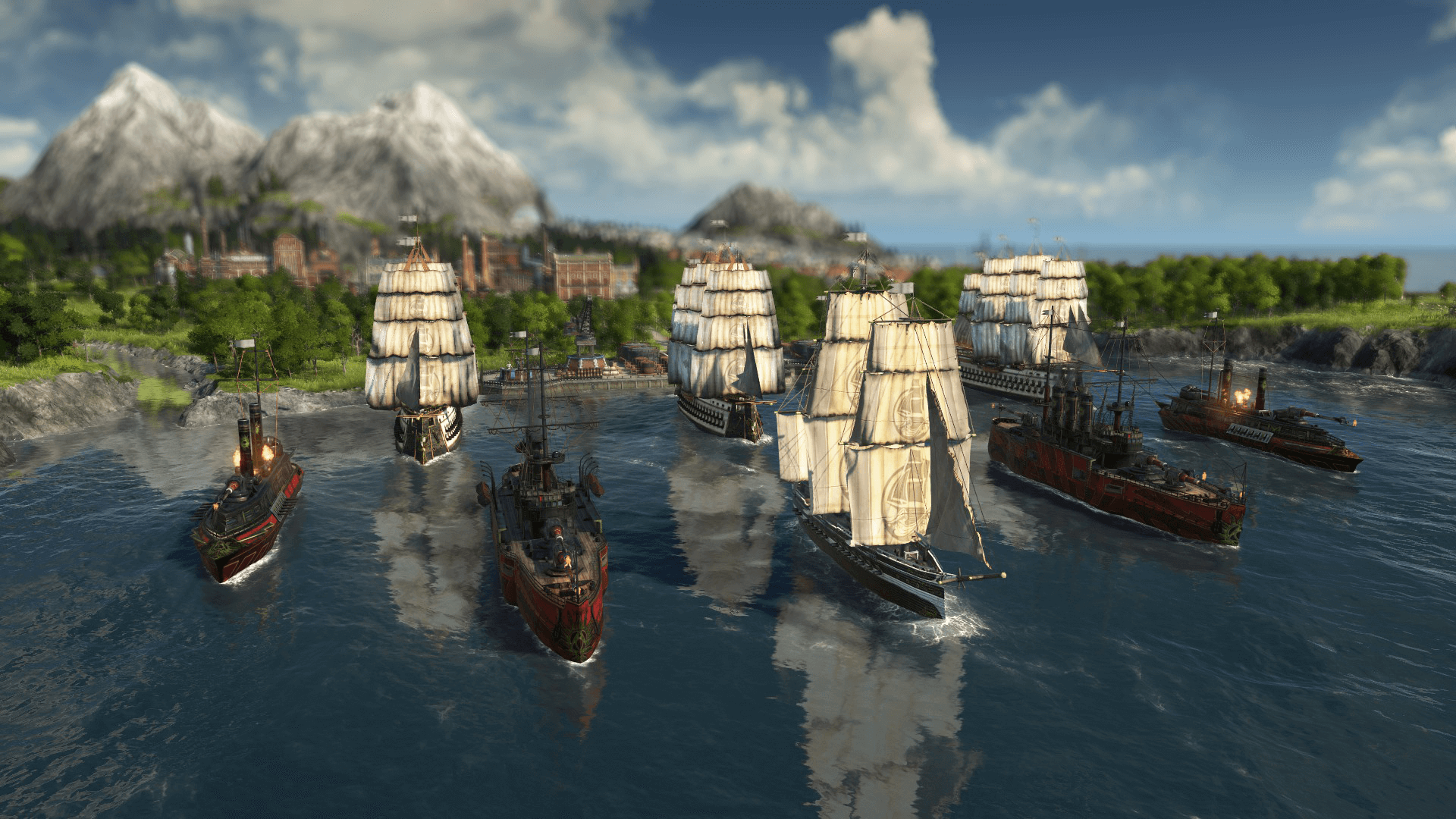 Anno 1800 ship fleet