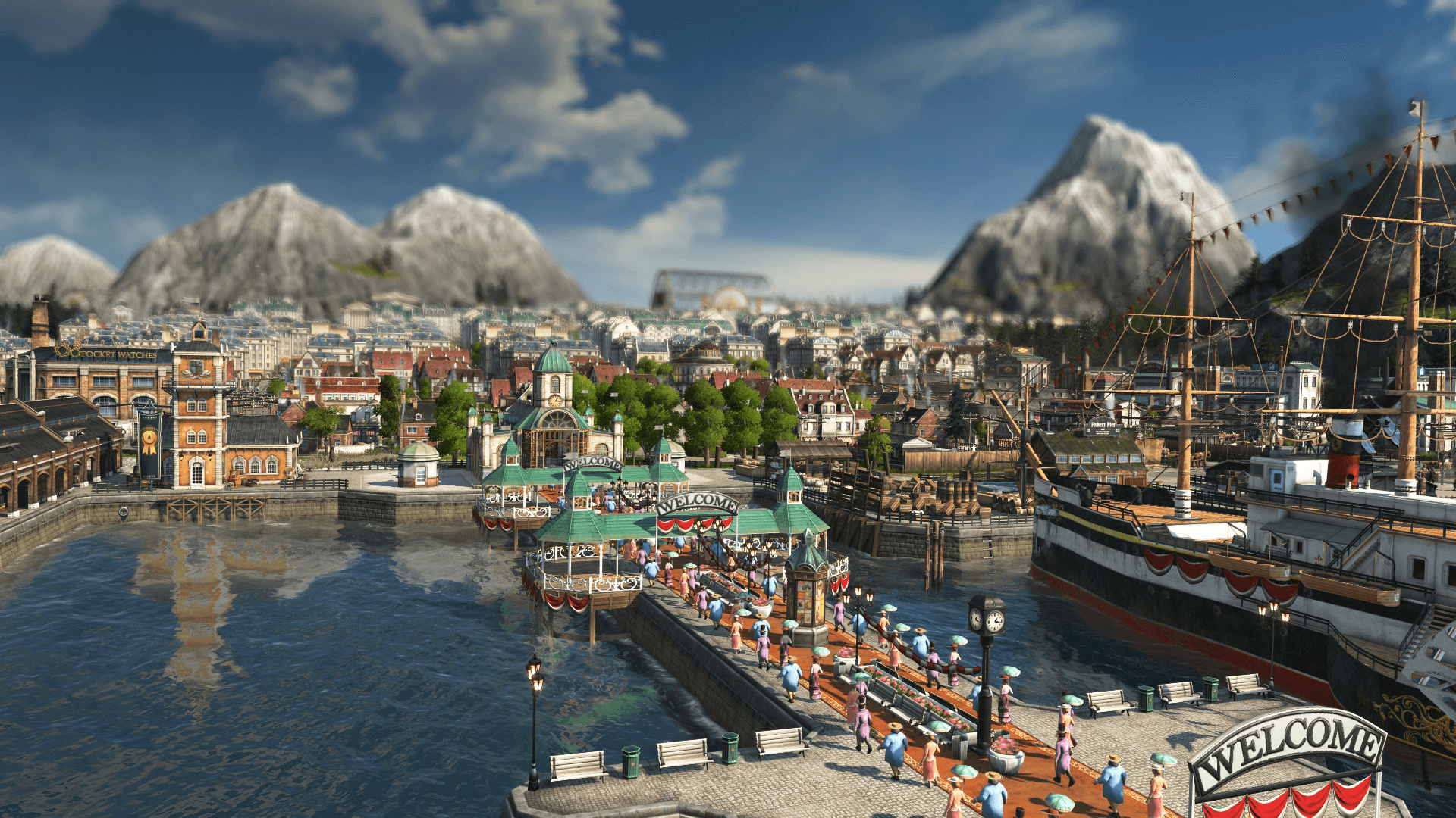 Anno 1800 Tourists