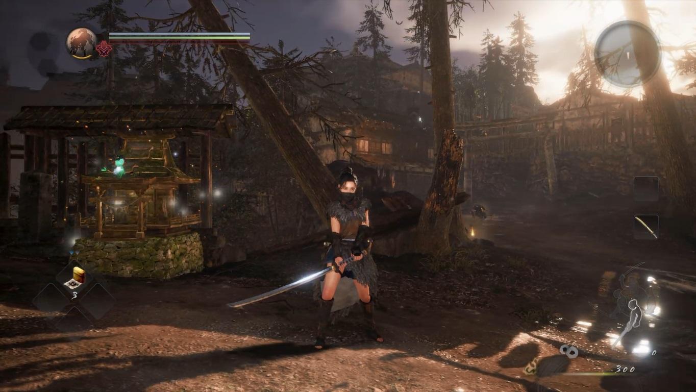 Nioh 2 alpha gameplay