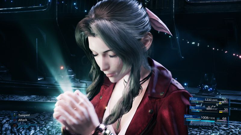 Final Fantasy VII Remake screenshot aerith