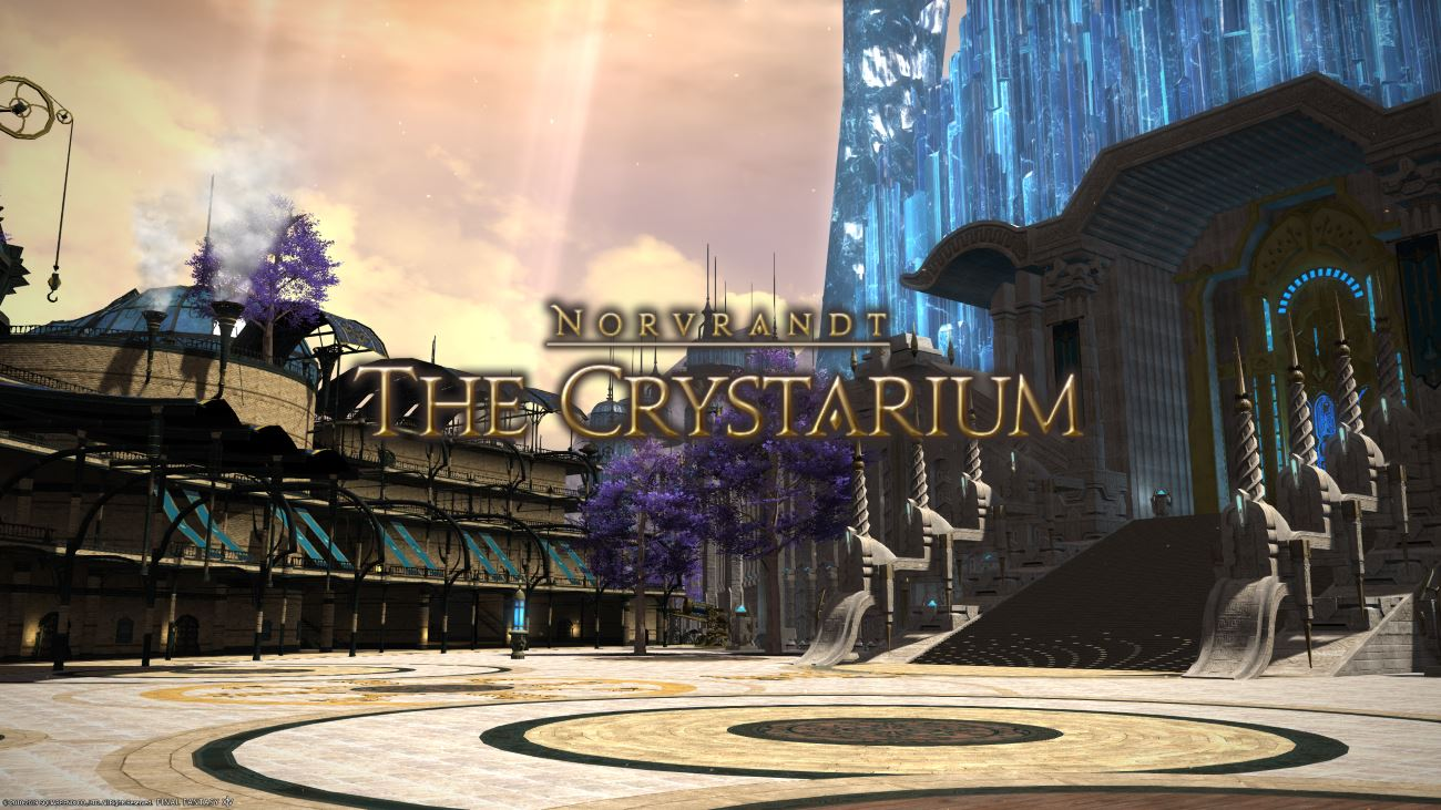 FFXIV Crystarium City