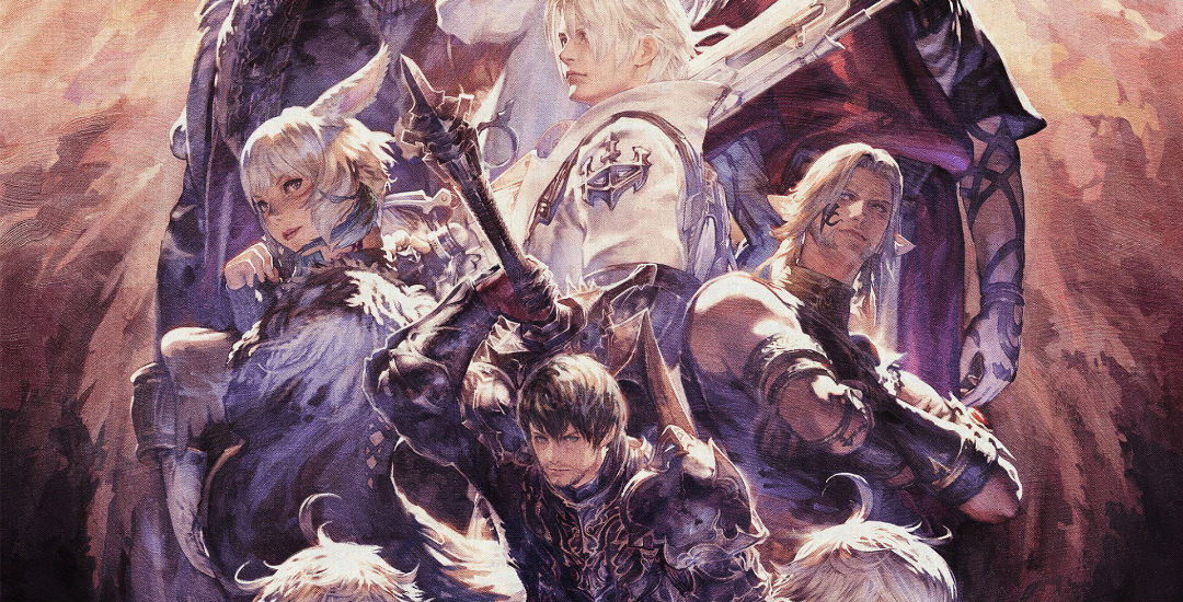 final fantasy XIV shadowbringers artwork art