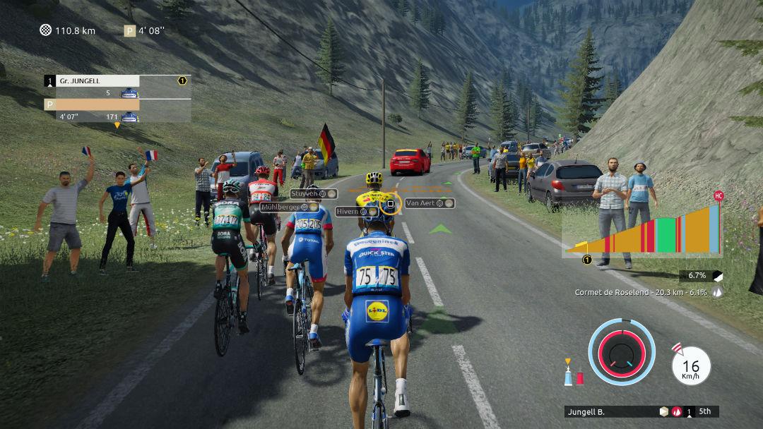 tour de france 2019 game screenshot