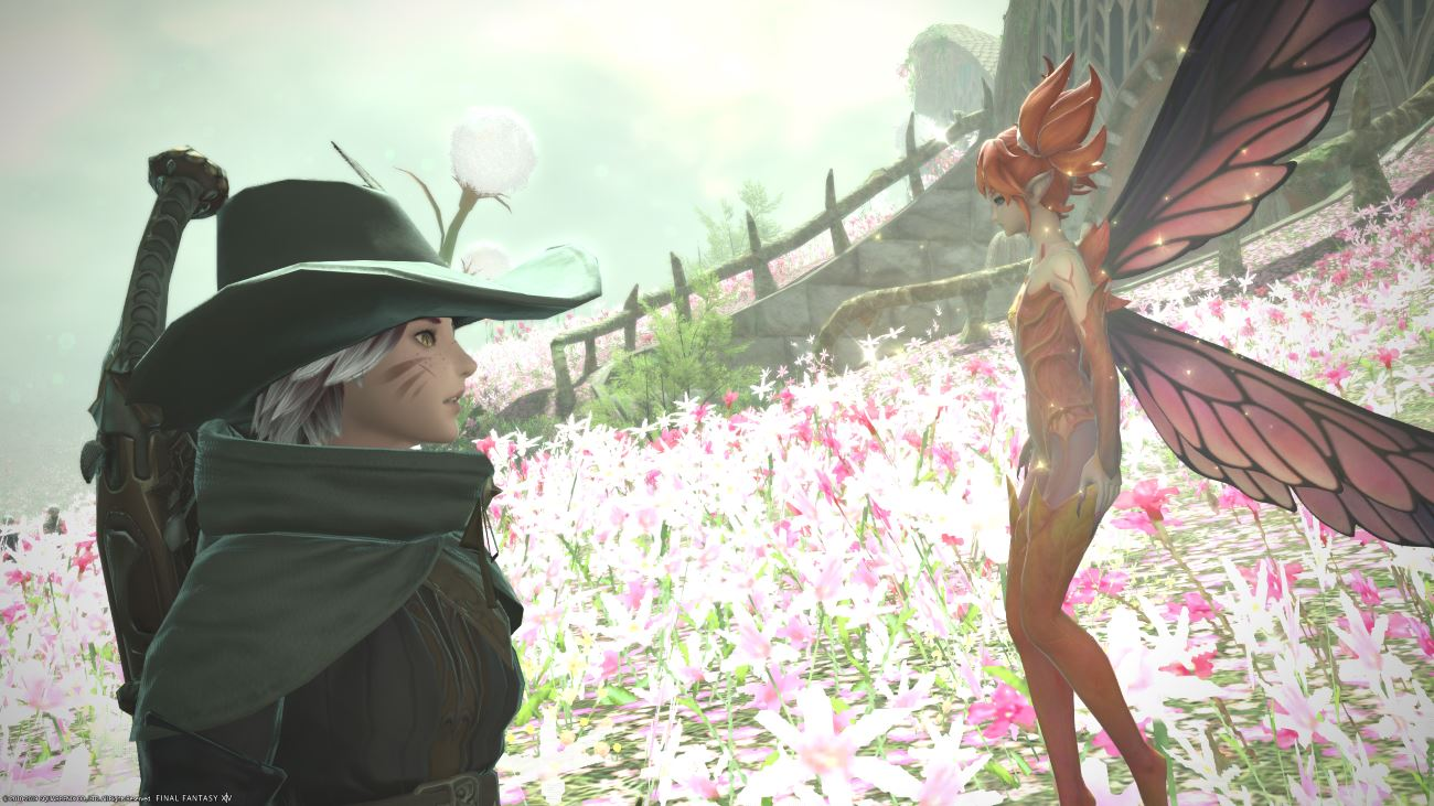 FFXIV Meet new Characters