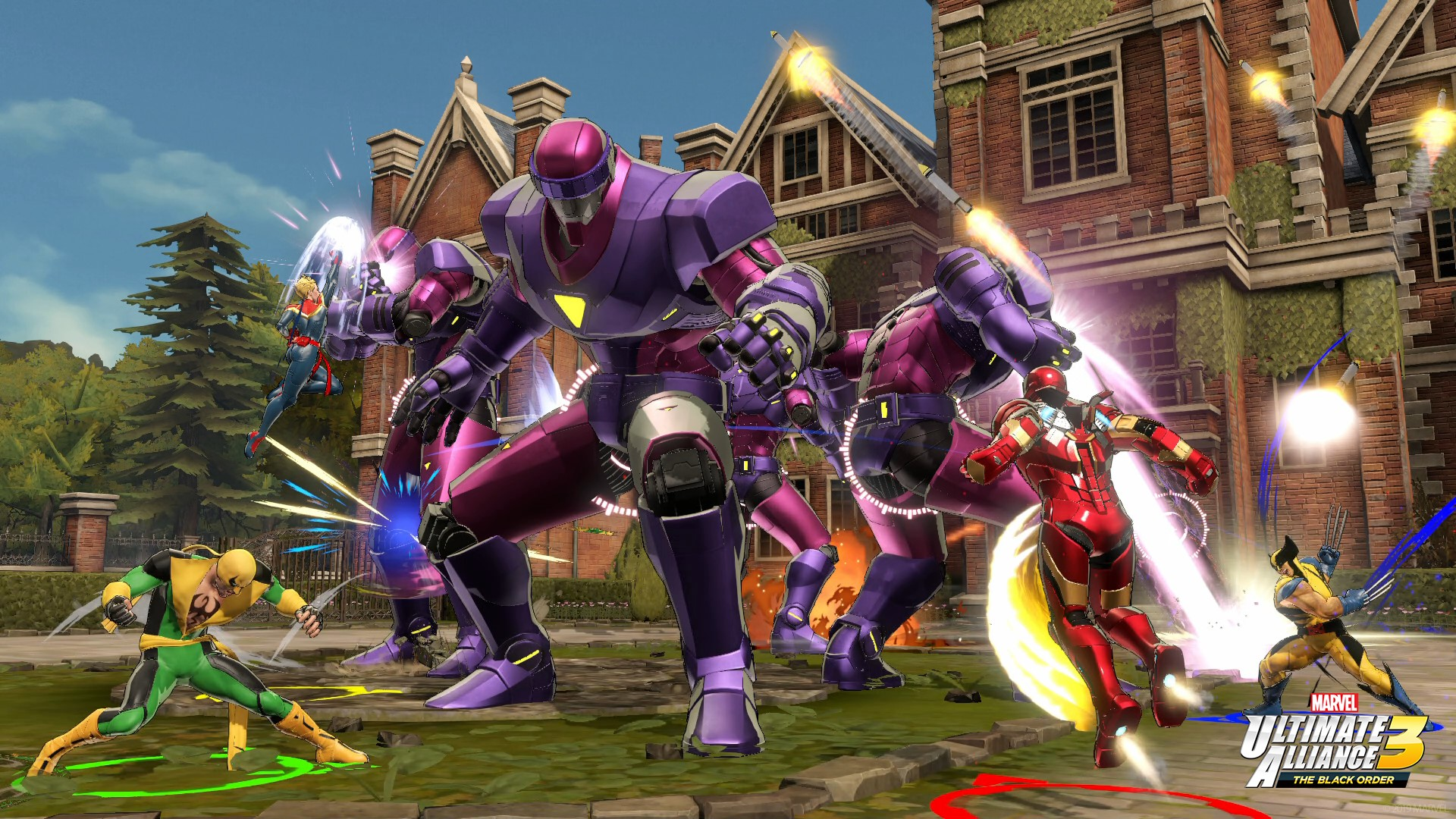 marvel x-men game switch screenshot