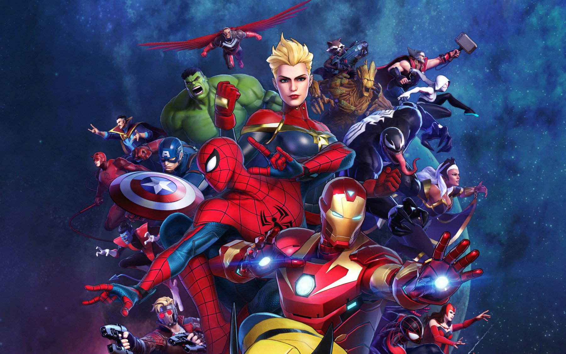 marvel ultimate alliance 3 heroes