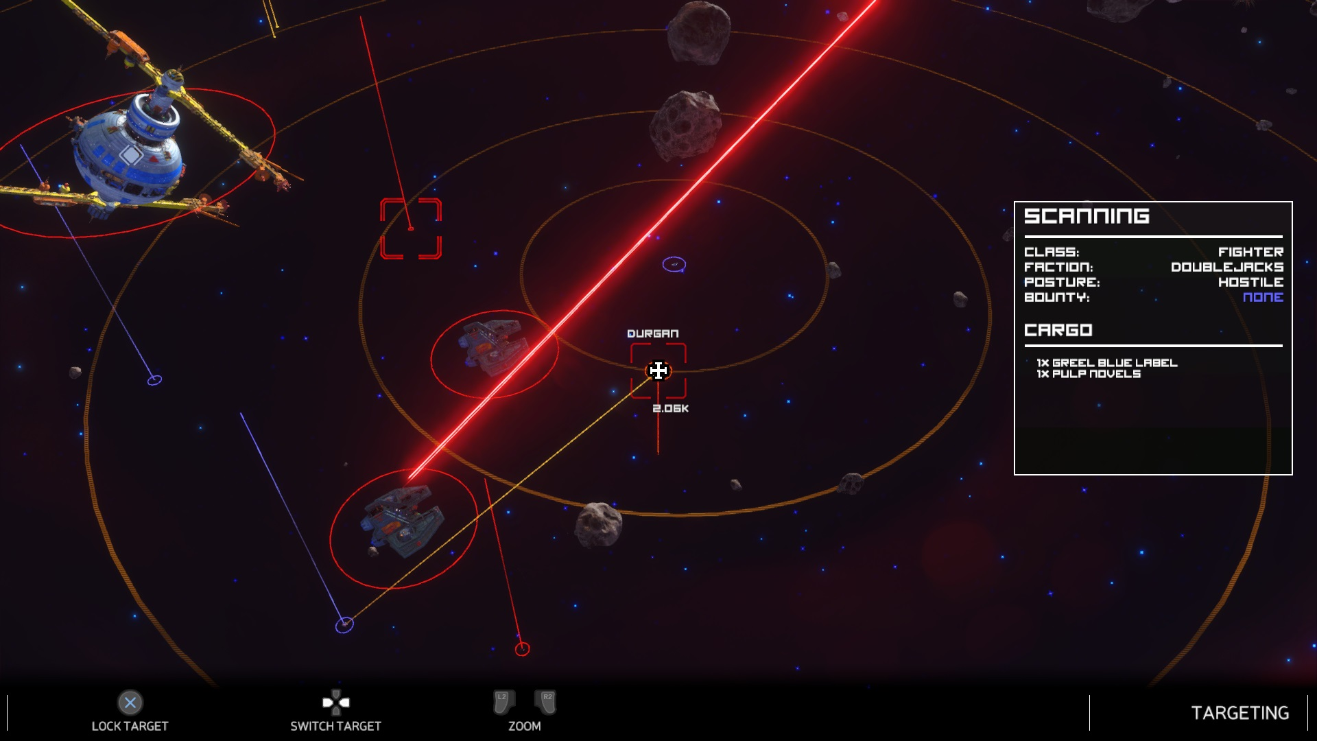 Rebel Galaxy outlaw target mode