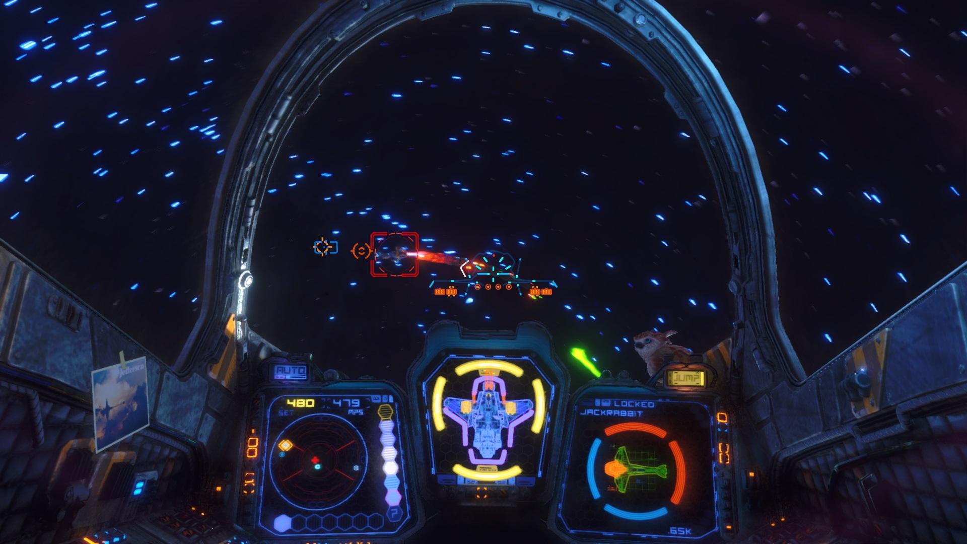 Rebel galaxy Outlaw cockpit