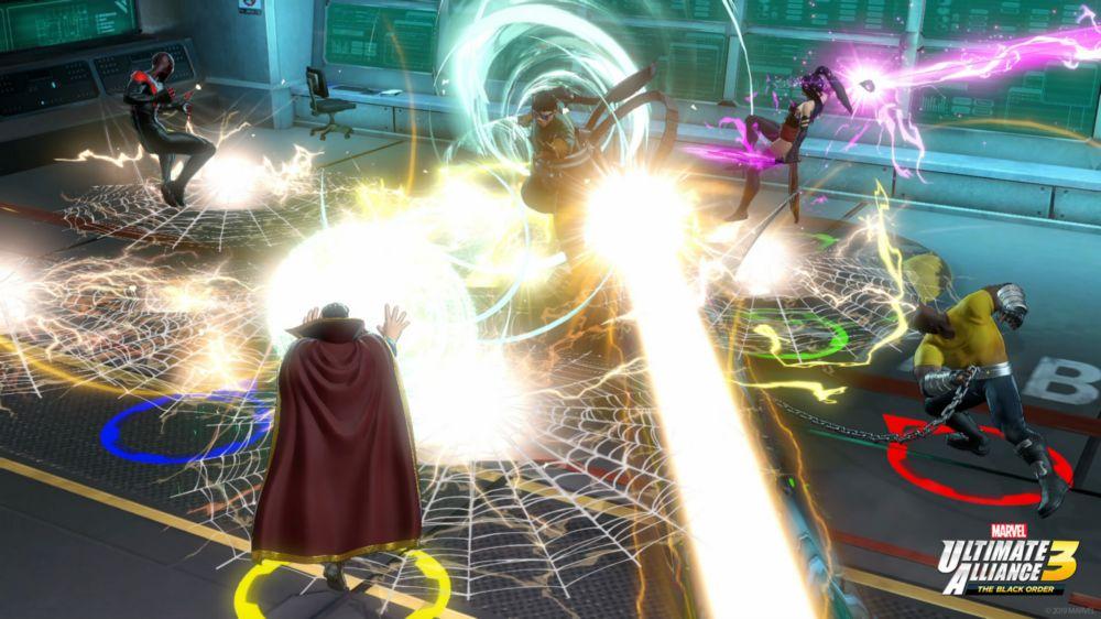 Doc Oc krijgt op z'n donder van o.a. Doctor Strange en Miles Morales