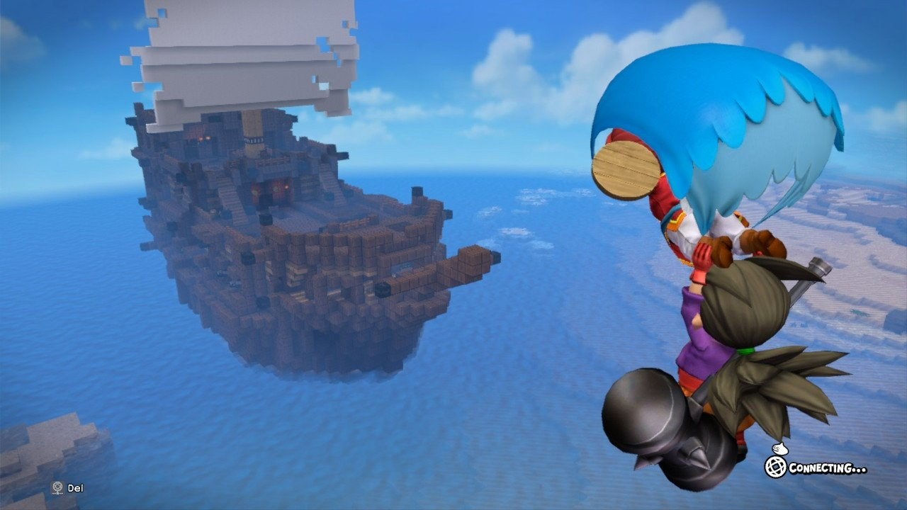 Dragon Quest Builders 2 Gliding off to Adventure