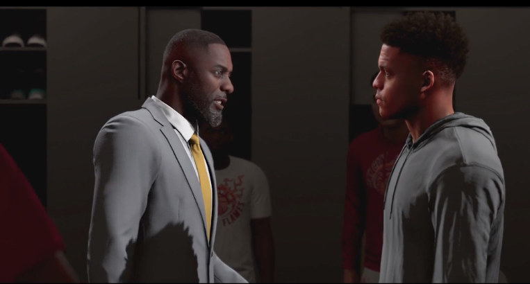 NBA 2K20 Career Mode Idris Elba
