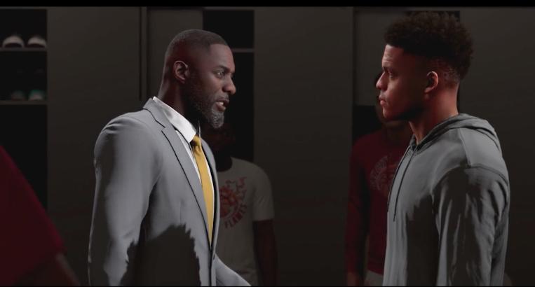 NBA 2K20 Career Mode Idris Elba