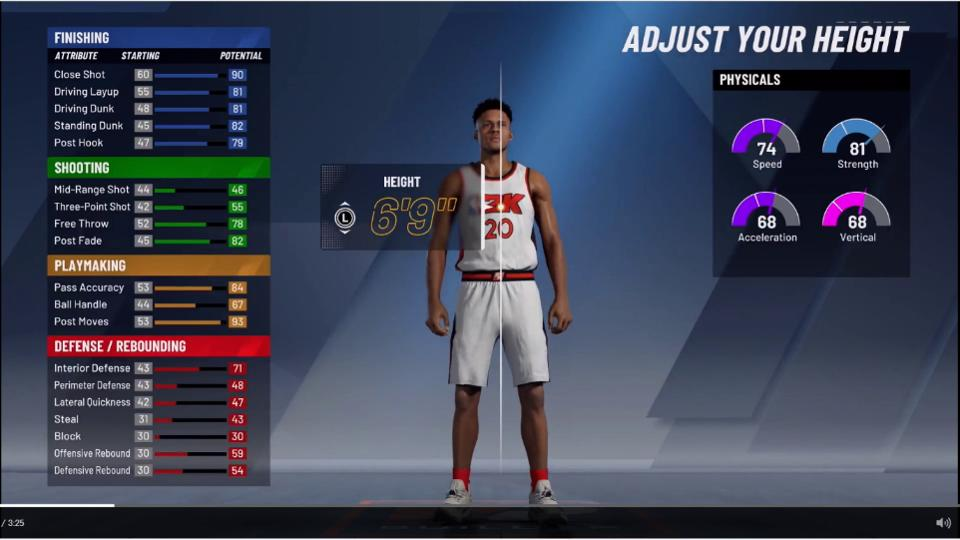 NBA 2K20 MyPlayer