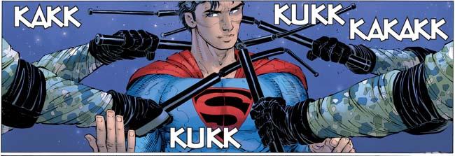Superman Year One kloppartij