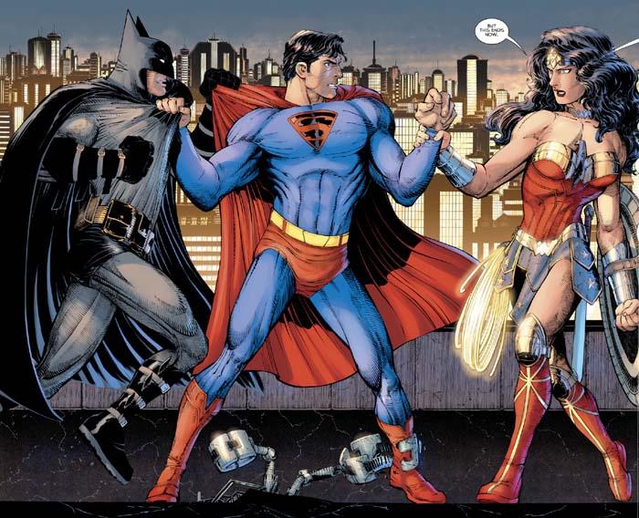 Superman Year One Trinity Spread