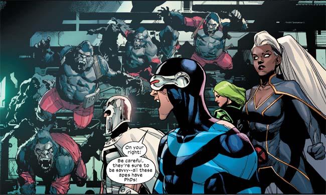 X-Men aktie