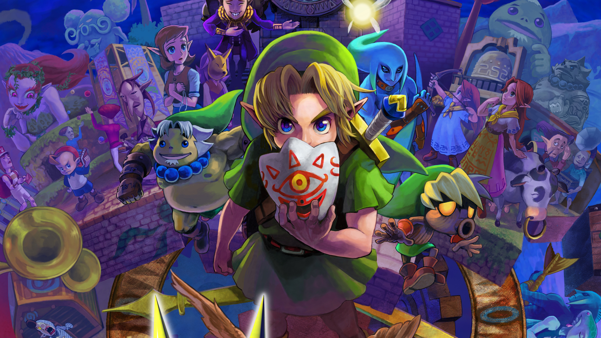 Majoras mask 3d