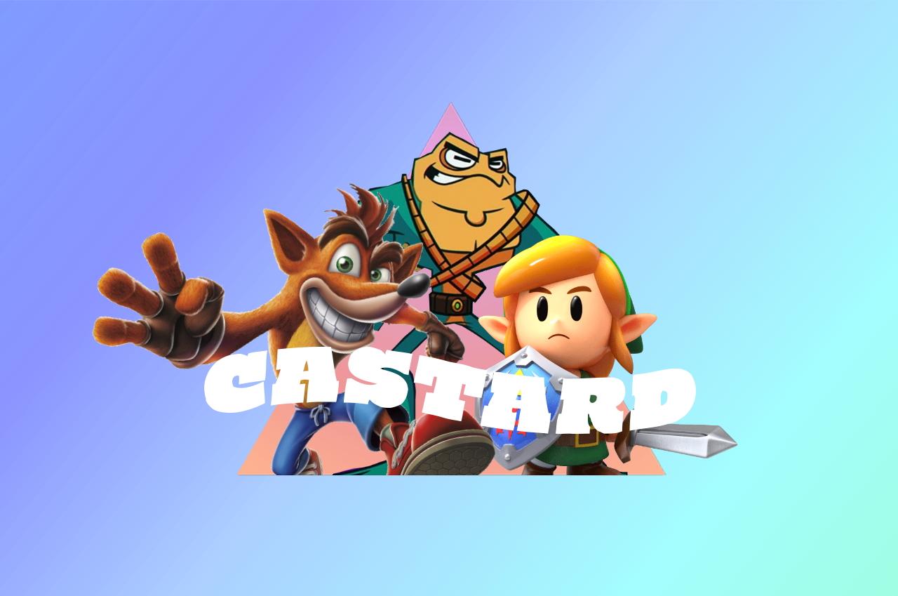 Castard remake comeback header