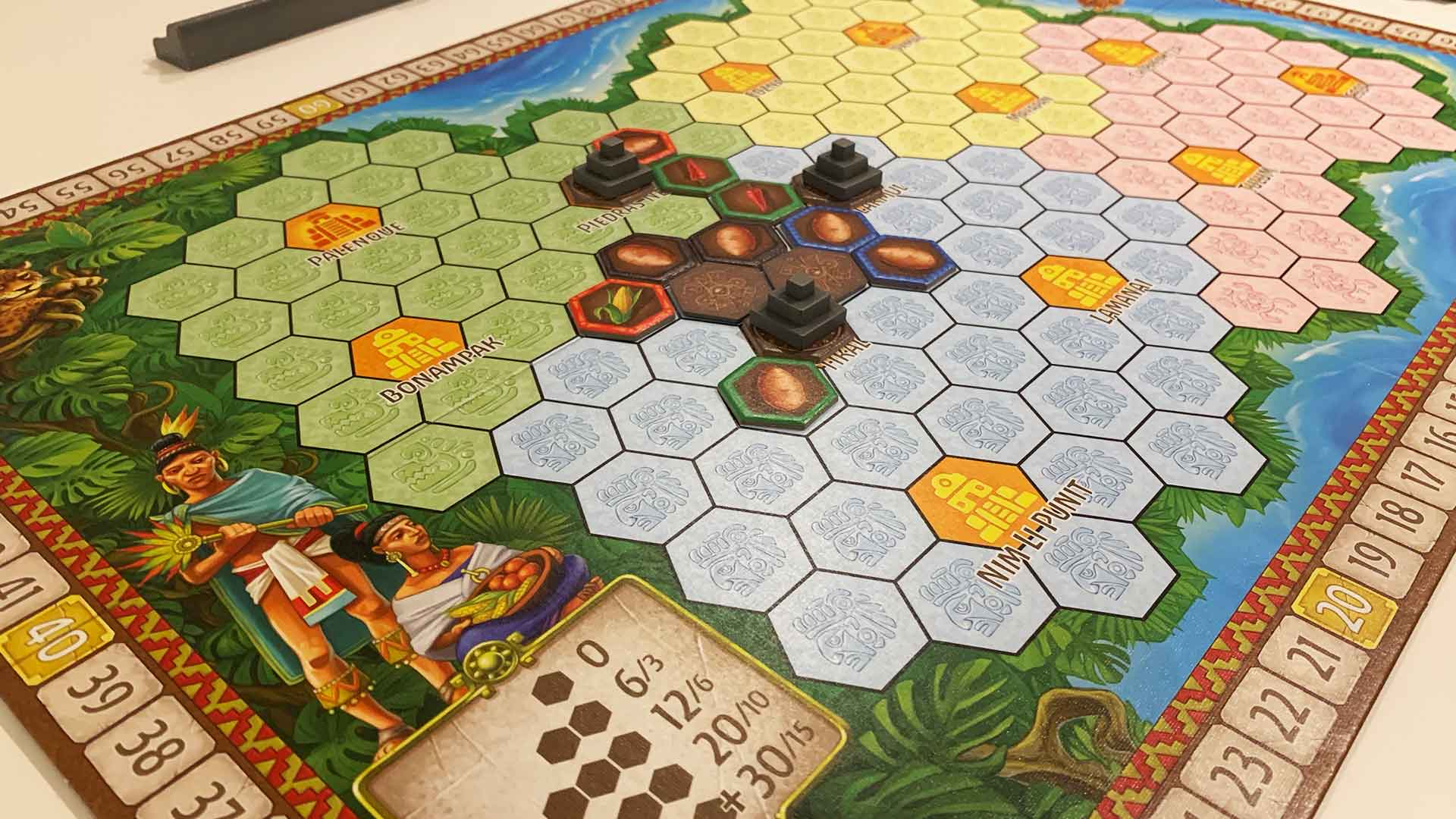 Maya boardgame