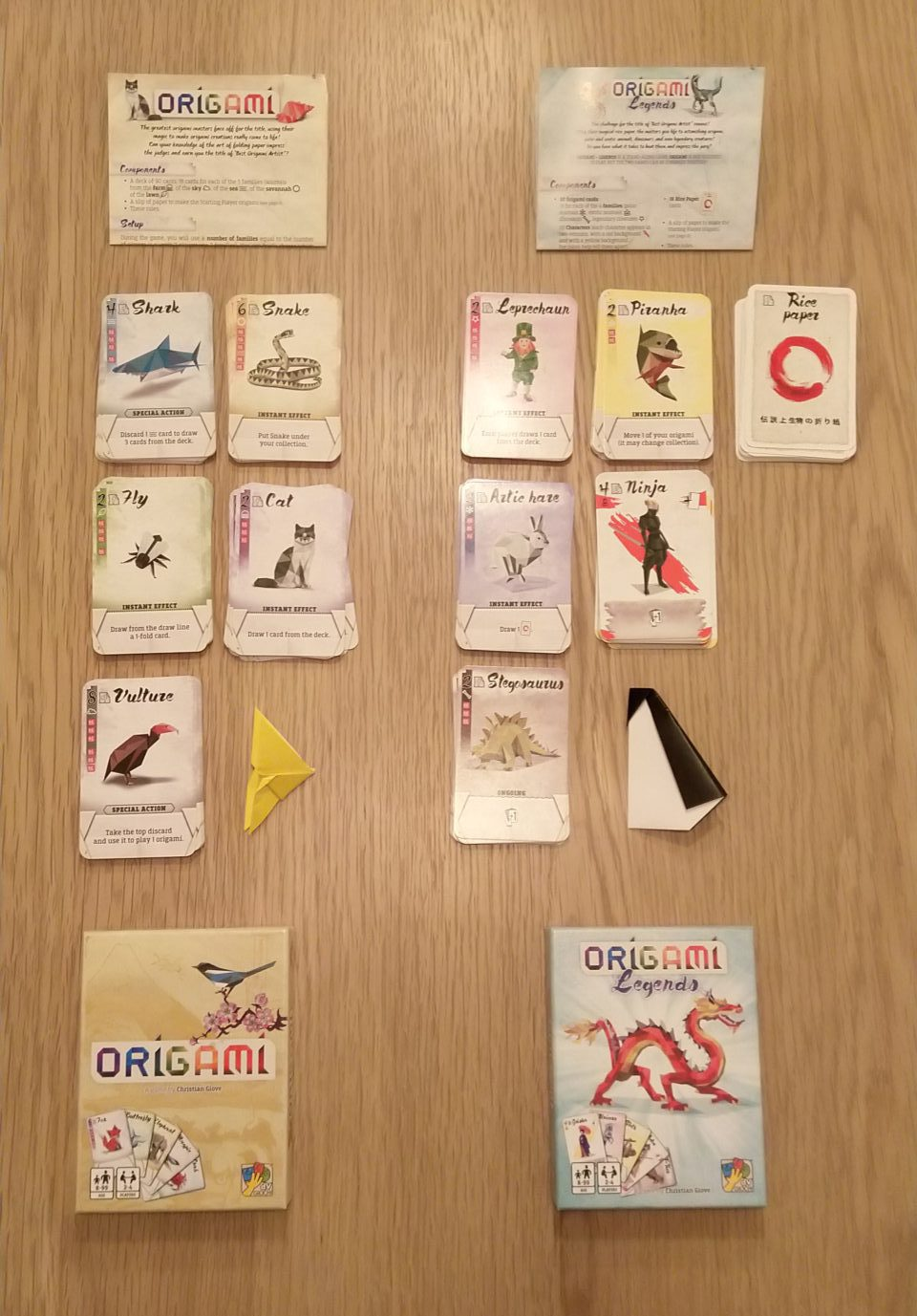 Origami Legends spelen