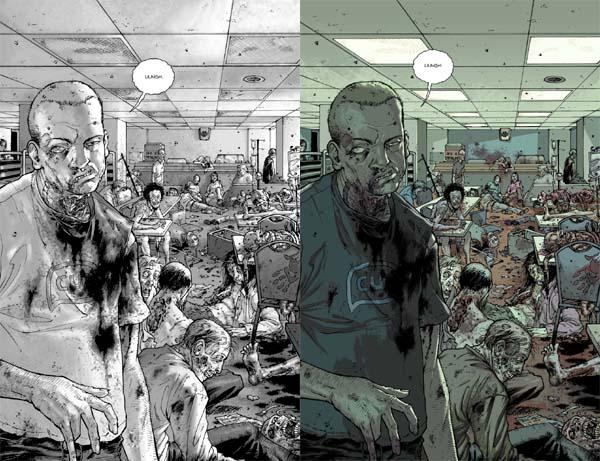 The Walking Dead oud vs nieuw