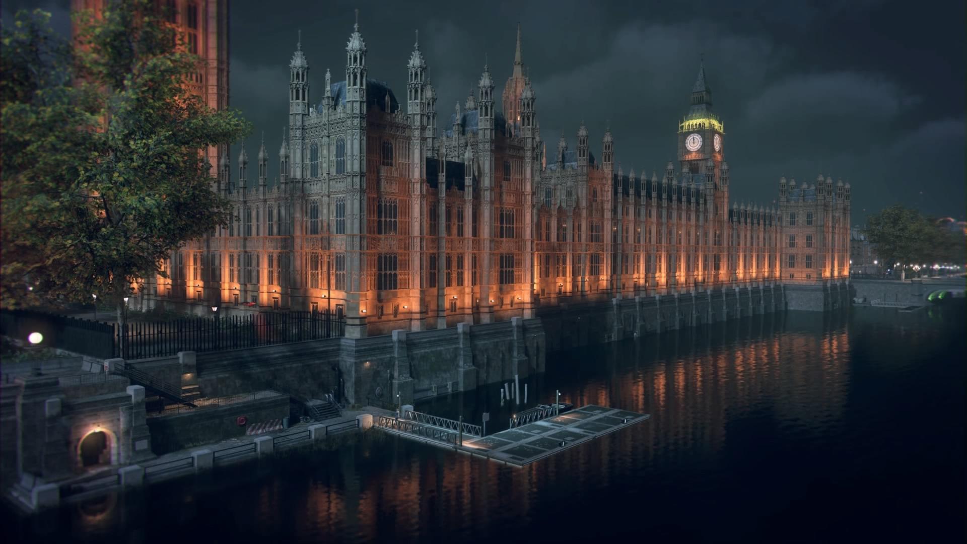 watch dogs London by night
