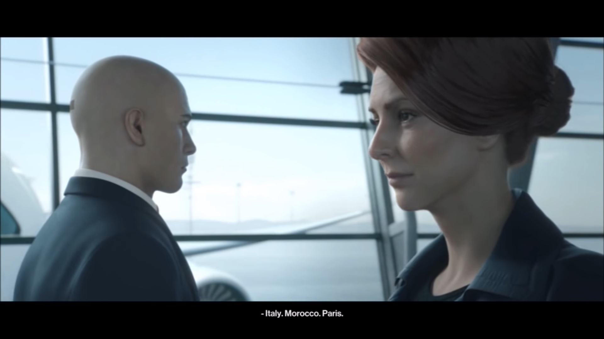 hitman connecting dots