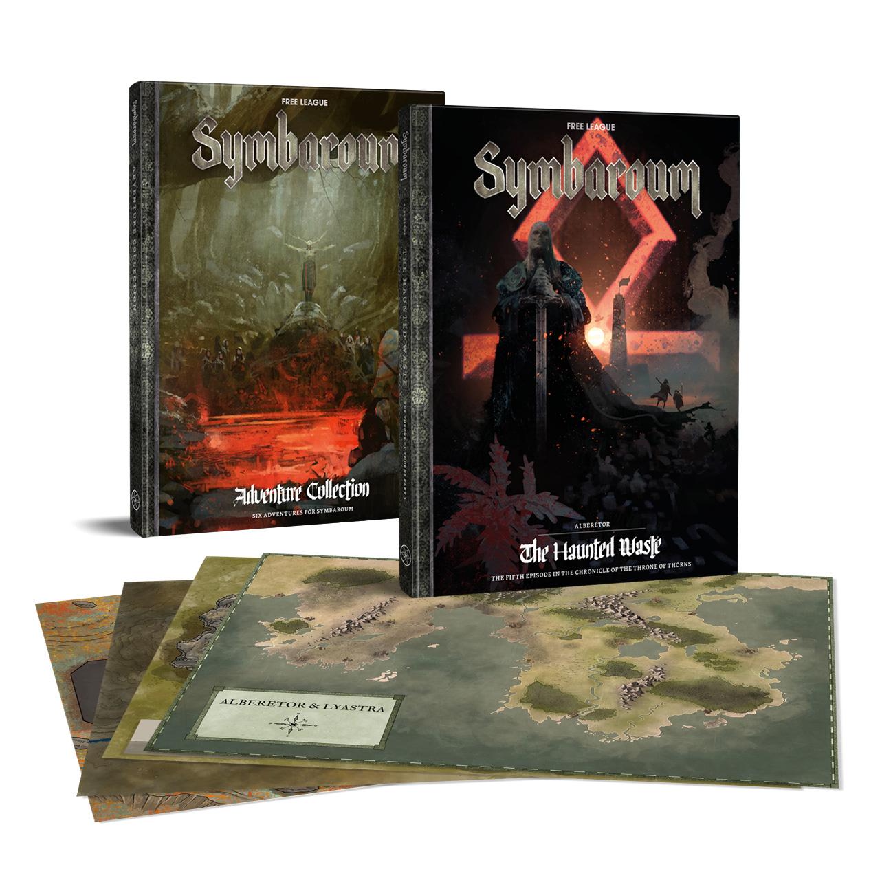 Symbaroum Alberetor The Haunted Waste_preorder_bundle