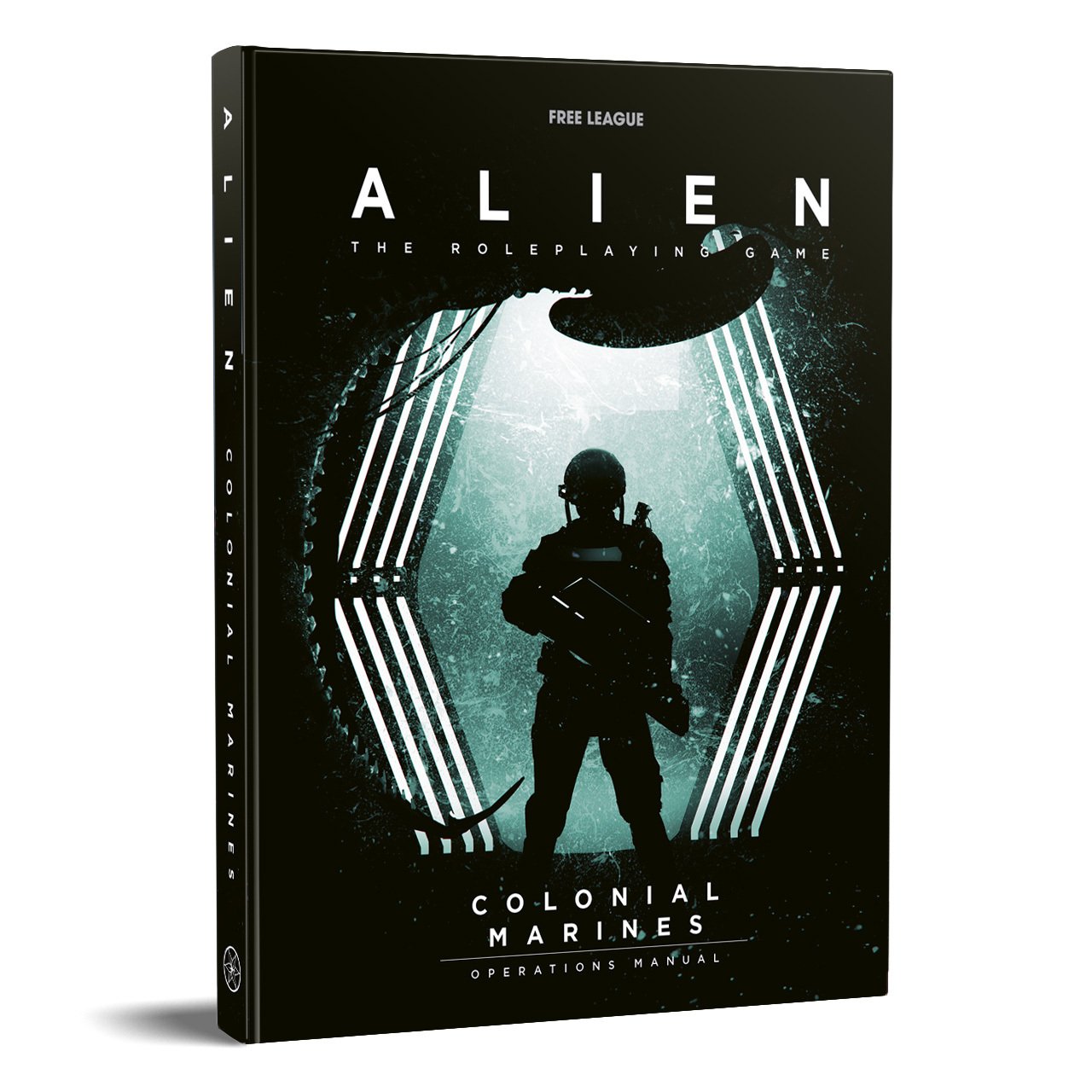ALIEN RPG Colonial Marines Operations Manual_cover 3D